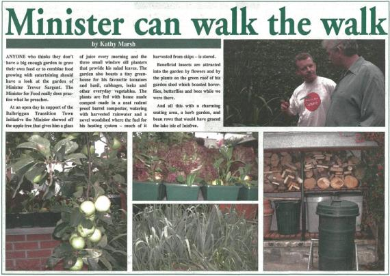 Article in Dublin Informer, January 2009