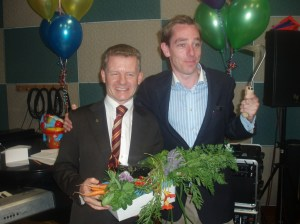 With Ryan Tubridy at the Tubridy Show