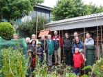 Some of the eclectic family gardeners, allotmenteers & GIYers who dropped in on Trevor's Kitchen Garden recently.